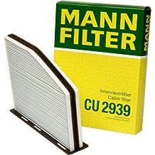 Mann-Filter CU 2939 Cabin Filter for select  Audi/ Volkswagen models
