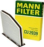 vw cabin air filter - Mann-Filter CU 2939 Cabin Filter for select Audi/Volkswagen models