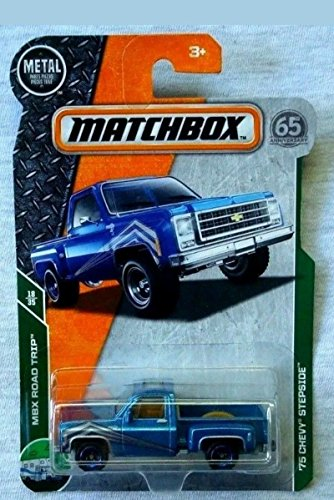 (MATCHBOX '75 CHEVY STEPSIDE MBX ROAD TRIP 65th Anniversary RARE 18/35)