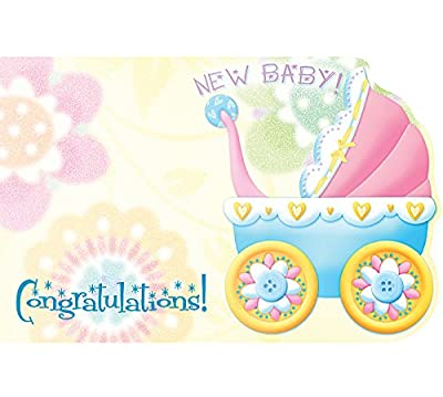 Congratulations New Baby! Enclosure Cards, Pack of 50