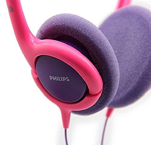 Amazon.com: Philips SHK1031 Kids headphones On-ear Pink / Purple SHK1030: Home Audio & Theater
