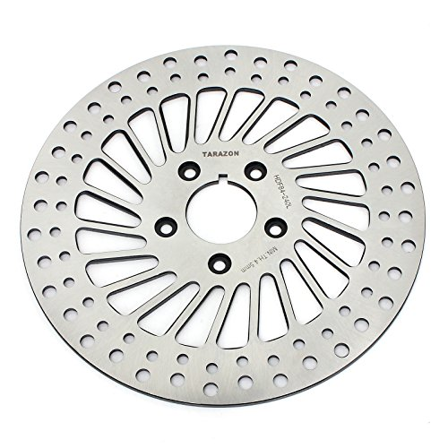 Harley Davidson Softail Parts - TARAZON 1984-1999 Front Brake Disc Rotor for Harley Davidson Sportster DYNA Softail Heritage Softail Custom Softail Springer Bad Boy Fat Boy