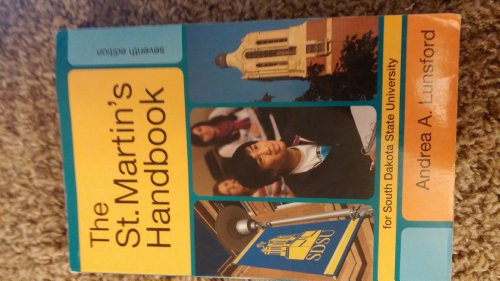 THE St. Martin's Handbook for South Dakota State University Edition