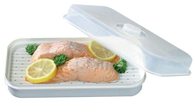 Amazon.com: Microwise de pescado para microondas: Kitchen ...