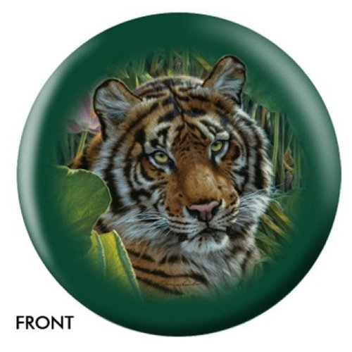 African Tiger Bowling ball- by Lee kronschroeder B005Y25J46  8lbs