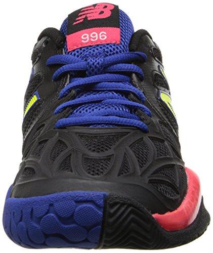 888098094435 - New Balance Women's WC996 Tennis Shoe,Black,6.5 D US carousel main 3