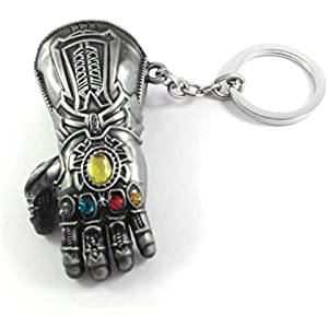 Amazon.com: ABRIL Rush llavero novedad Thanos infinity ...