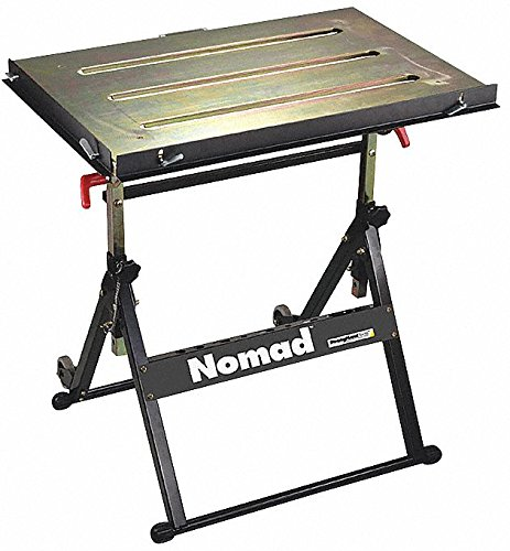 Portable Welding Table, 30W, 20D, Cap 350 by Buildpro