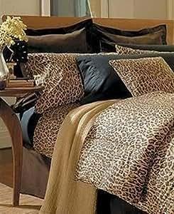 Amazon Com Ralph Lauren Leopard Aragon King Size Duvet