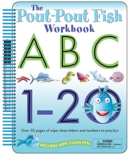 The Pout-Pout Fish: Wipe Clean Workbook ABC, 1-20 (A Pout-Pout Fish Novelty)