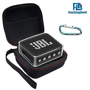 Pushingbest Coque pour JBL Go 2, 2 avec Eva et TPU pour Votre Haut-Parleur JBL Go 2 Bluetooth 3