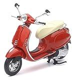 Vespa Primavera Scooter Model 1:12 Scale by Newray (Red)