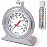 CDN POT750X Pro Accurate High Heat Oven Thermometer with EFG Refrigerator / Freezer Thermometer
