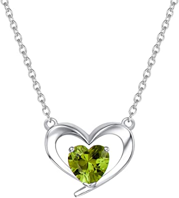 gift Heart necklace sterling silver