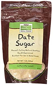 NOW Foods Date Sugar, 1 lb