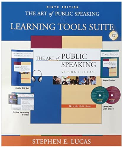 The Art of Public Speaking with Student CDs 5.0, Audio CD set, PW & Topic Finder: With Student CDs 5.0, Audio Cd Set, Powerweb & Topic Finder