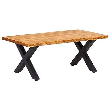 Tavolini Da Salotto Vintage.Tidyard Tavolino Da Caffe In Legno Massello Tavolino Da Salotto