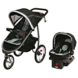 Graco Fastaction Fold Jogger Click Connect Baby Travel System - Gotham