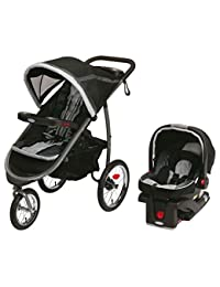 Graco Fastaction Fold Jogger Click Connect Baby Travel System, Gotham BOBEBE Online Baby Store From New York to Miami and Los Angeles