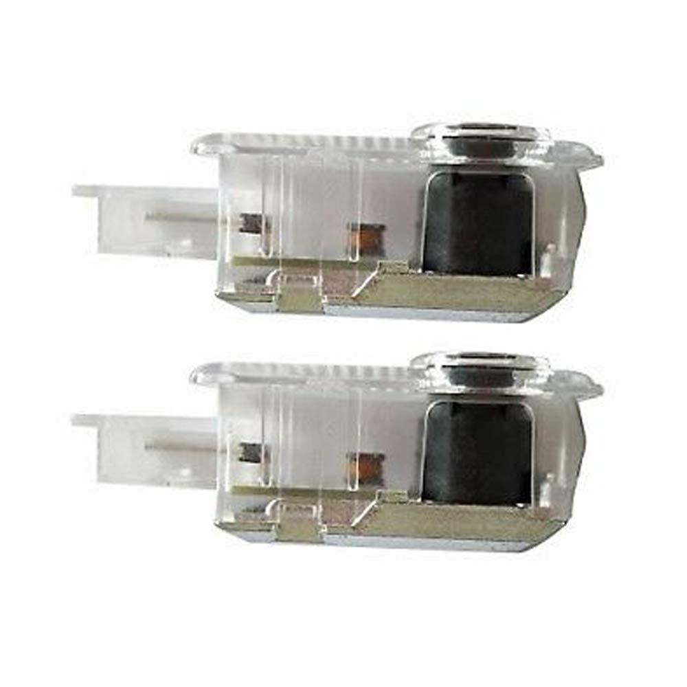 XIUJINGHONG 2 pezzi LED Portello di Automobile Benvenuto Fantasma Luce Illuminazione BENZ E AMG