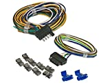 5 wire trailer harness - Trailer Wiring Kit (7107) with 5-Way Flat - 25 ft.