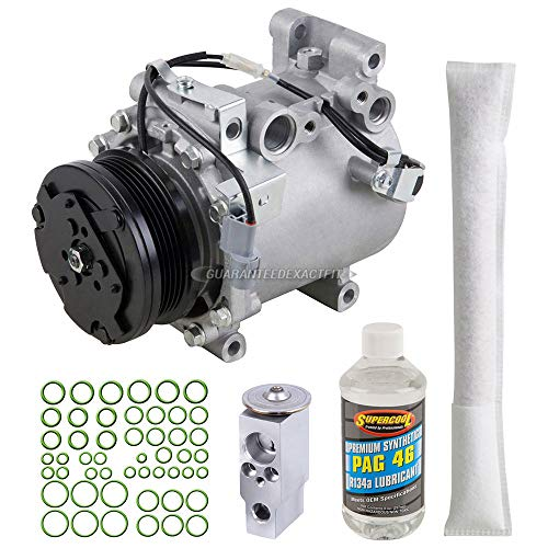 (AC Compressor w/A/C Repair Kit For Mitsubishi Eclipse & Chrysler Sebring - BuyAutoParts 60-80339RK New)