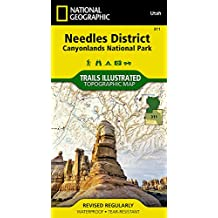 Needles District Canyonlands National Park, Utah: Outdoor Recreation Map