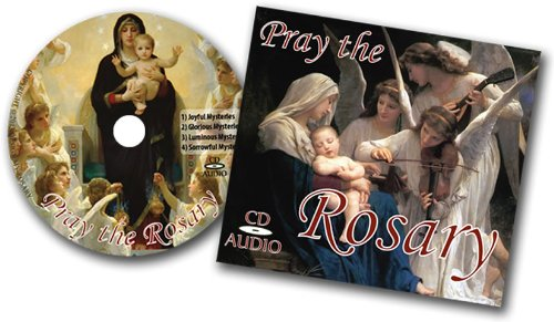 Pray the Rosary CD: Includes Luminous, Joyful, Glorious, and Sorrowful Mysteries.