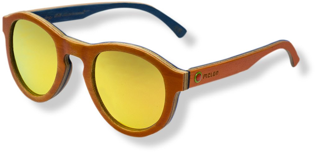 Melon Skatewood Sonnenbrille, Jake II Green, Uni