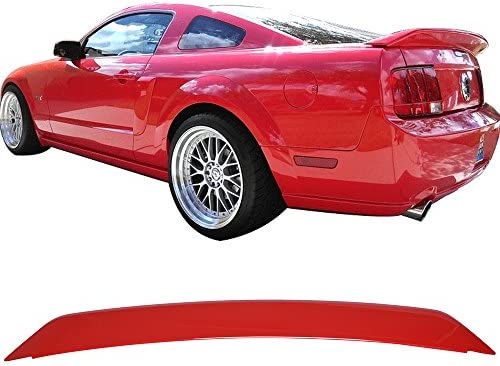 05-09 Mustang OE Style Trunk Spoiler ABS OEM Painted Color # D3 Colorado Red