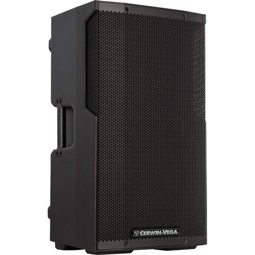 "Cerwin Vega CVE-12 12"" 1000 Watt Powered Loudspeaker w/ Bluetooth"