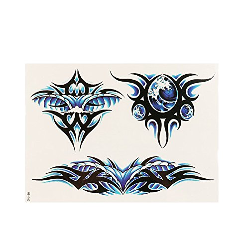 Topgee Fashion Temporary Tattoos Body Sticker Tattoo Paper