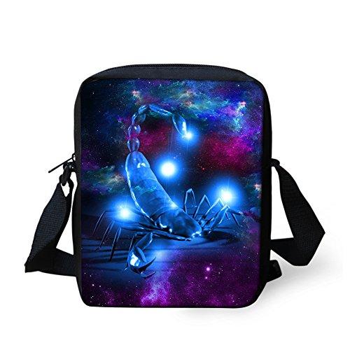 Baby scorpion Animal for Messenger Coloranimal Pattern Bags Cool Children Wolf q6WR81U