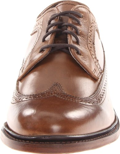 Frye Mens James Oxford Tan Smooth Full Grain-84622