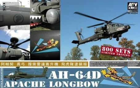 AFV Club AH-64D Apache Longbow 1:48 Scale Military Model Kit