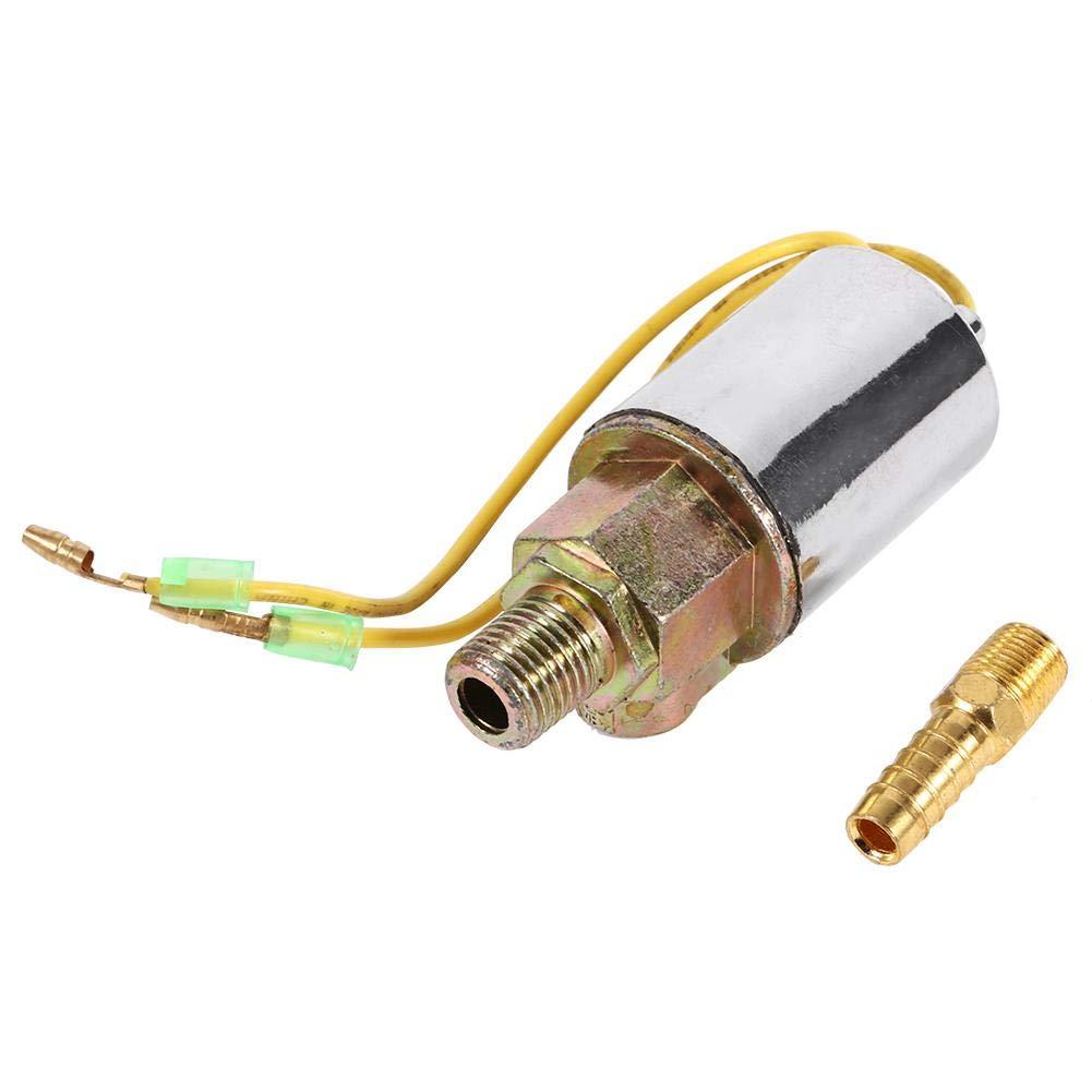Keenso 1//4 zoll Luft Horn Magnetventil NPT 24 V Zug Truck Luft Horn Elektrisches Magnetventil