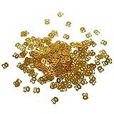 MonkeyJack Table Confetti Sprinkles Age Number Birthday Wedding Anniversary Golden - 50