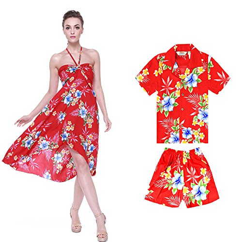 Amazon.com: Hawaii Hangover Matching Mother Son Hawaiian Luau Outfit ...