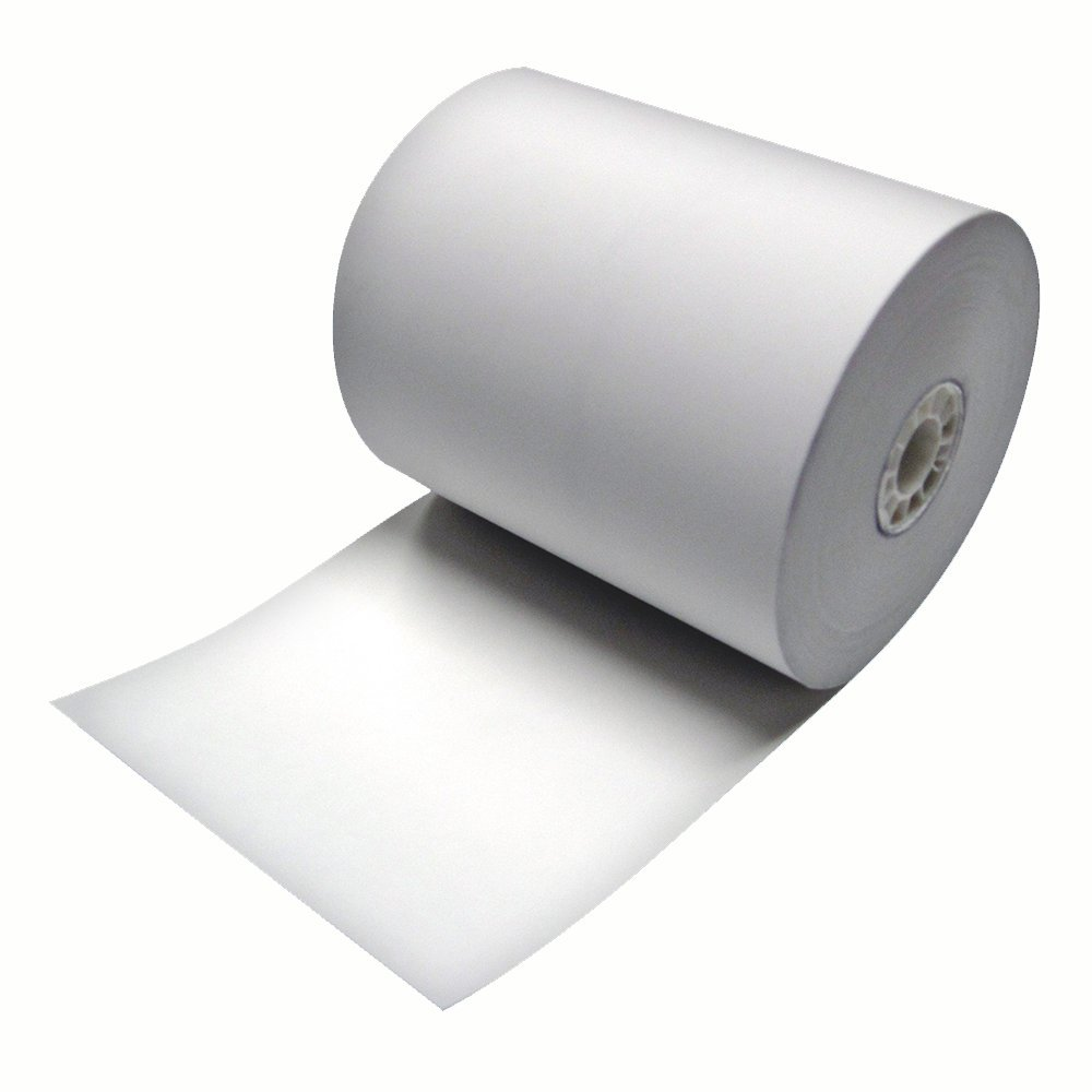 NCBP Thermal Cash Register POS Receipt Paper, 3 1/8'' (80mm) X230', 50 Roll per Case