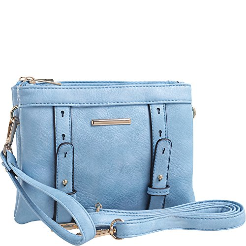 Cara Mia Farrow by MKF Crossbody Blue Compartment Double K Collection q6nfP