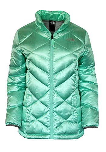 THE NORTH FACE YOUTH GIRLS ACONCAGUA DOWN JACKET SURF GREEN (S 7/8) by The North Face