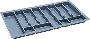 Bandeja de cocina para cubiertos REJS., plástico, Gris, 900 - (830X430
