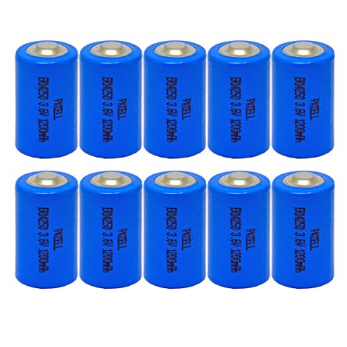 1/2AA 3.6V ER14250 1200mAh Lithium Battery 10Pcs for sale  Delivered anywhere in Canada