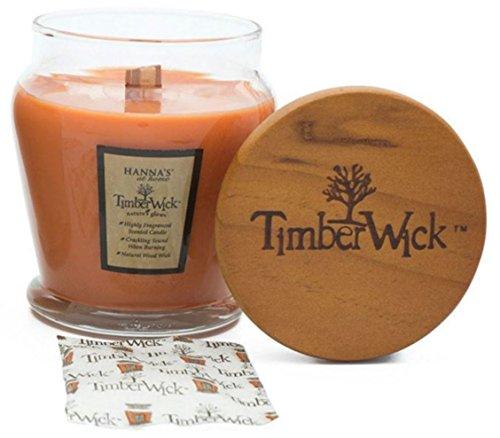 Pumpkin Spice 9.25 oz TimberWick Natures Glow Jar Candle