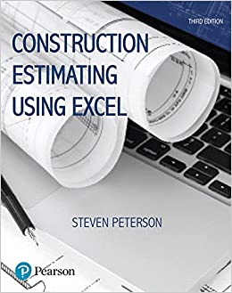 amazon construction estimating using excel 3rd edition what s