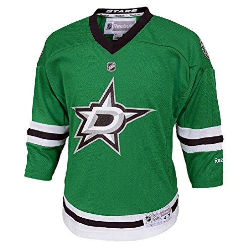 Dallas Stars Reebok Child Replica (4-6X) Home NHL Hockey Jersey Size Child (4-6X)