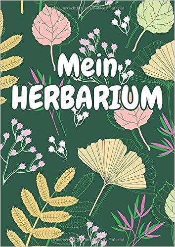Mein Herbarium Herbarium Leer A4 Pflanzen Sammeln