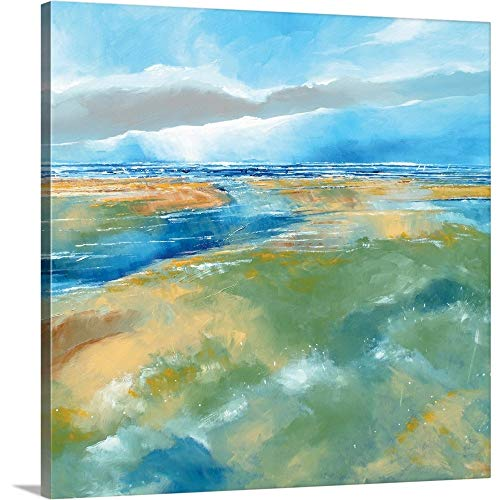 Gallery-Wrapped Canvas Entitled A Blustery Day Near Salthouse by Stuart Roy 16