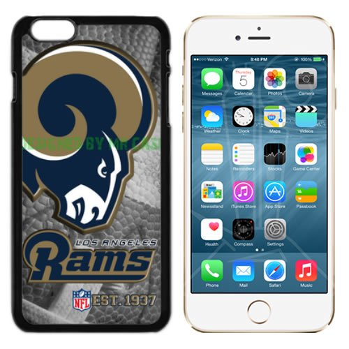 Rams Los Angeles Football New Black Apple iPhone 6S Plus Case By Mr Case by Mr Case