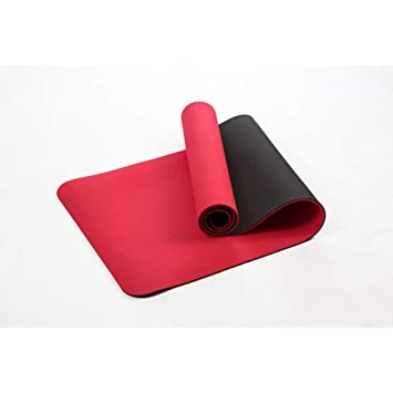 HYTGFR 6Mm Antideslizante Estera de Yoga elástica para ...